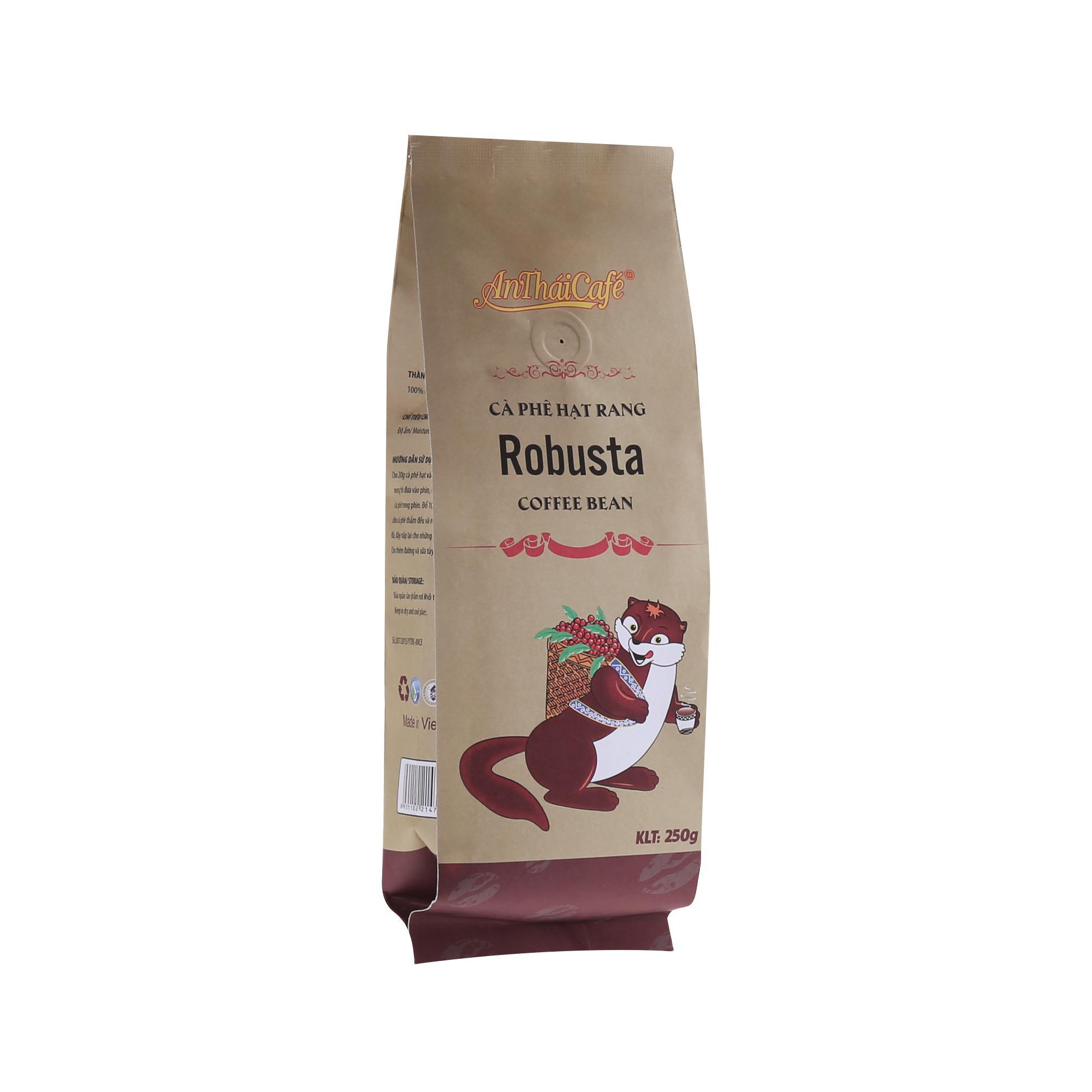 Cà phê hạt rang Robusta AnTháiCafé - Túi 250g