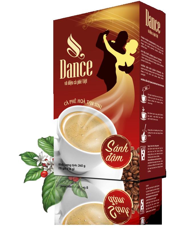 Dance Coffee - 3in1 Sánh đậm